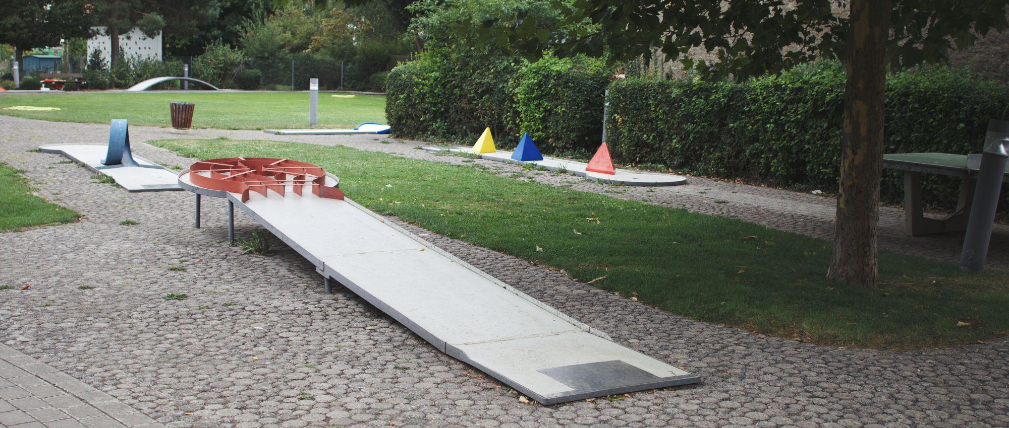 Dürrbachpark Minigolf Bahn 7