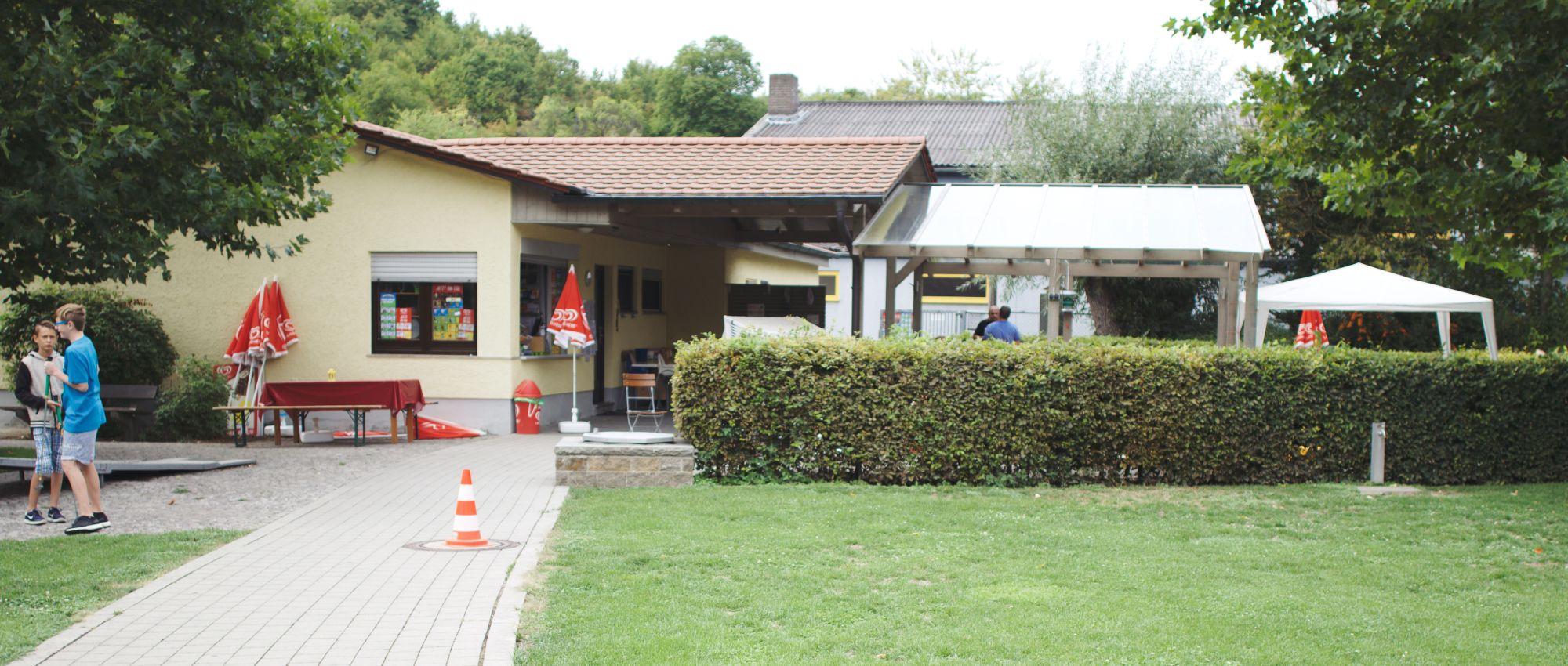 Dürrbachpark Minigolf Kassenhaus mit Anlage