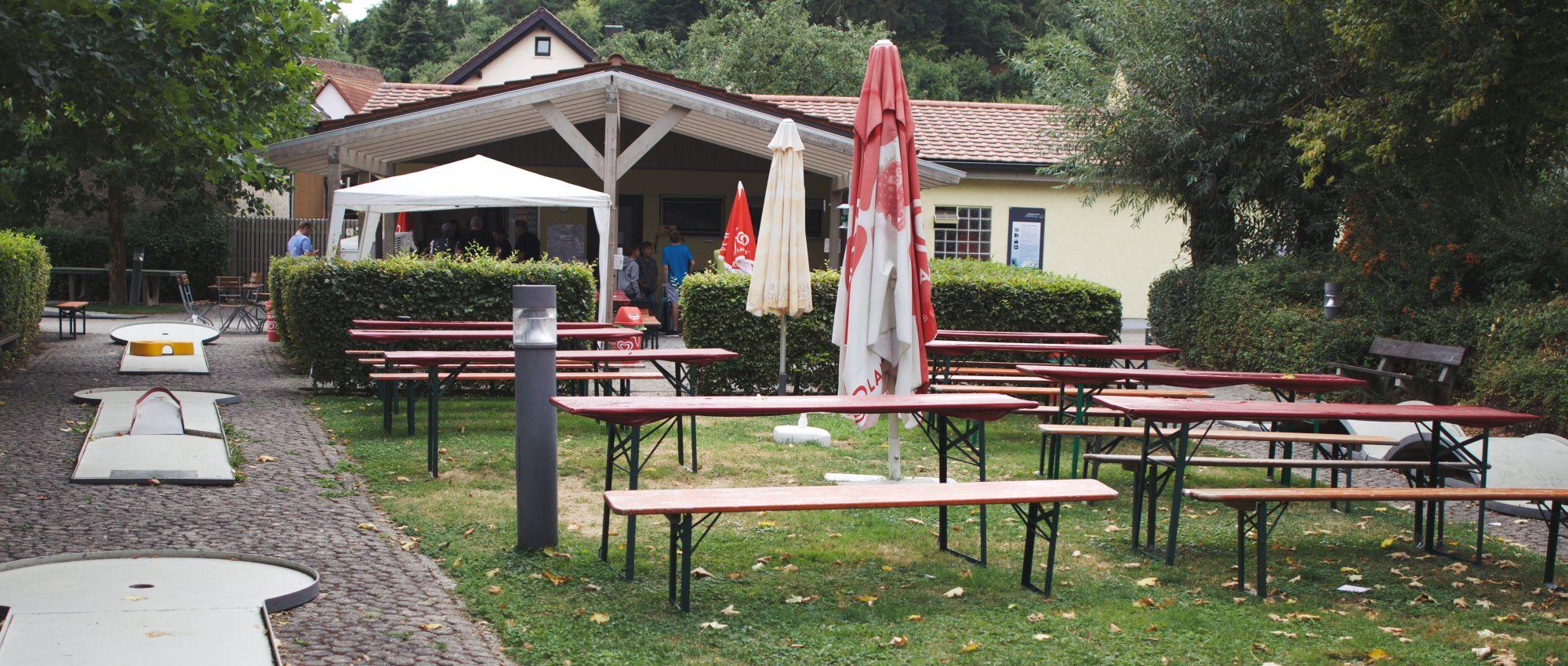 Dürrbachpark Minigolfanlage Güntersleben